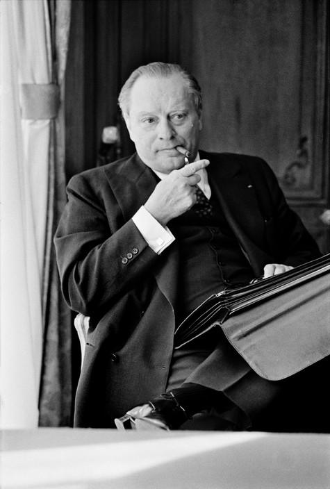 Ambroise ROUX, PDG de la Compagnie Générale d'Electricité.